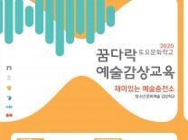 태안군, '놀이로 배우는 즐거운 예술체험' 꿈다락 예술감상교육 실시